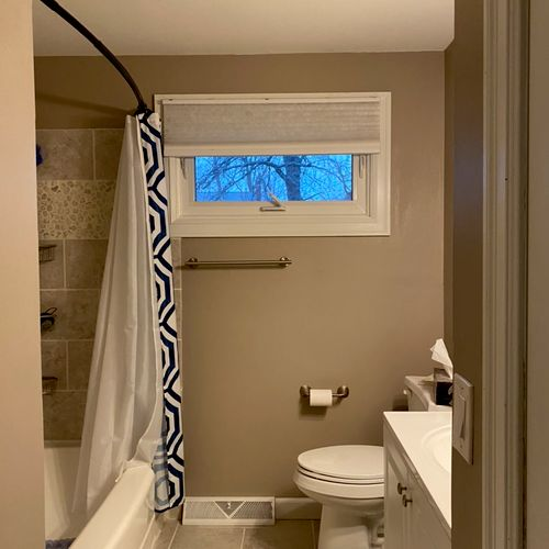 Bathroom exhaust fan install