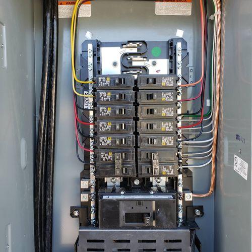 main panel upgrade