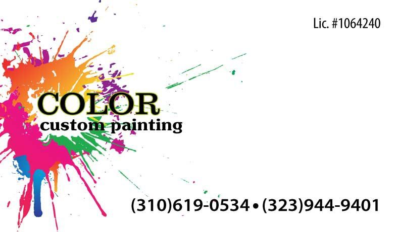 Color Custom Painting
