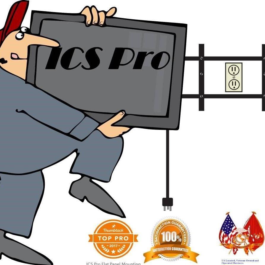 ICS Pro TV Mounting Service