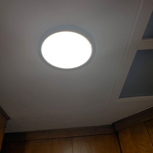 led panel fixture replacement