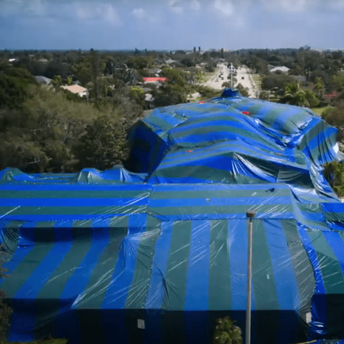 Large fumigation in Cape Coral, FL