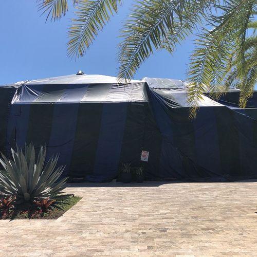 Tent fumigation in Naples, FL