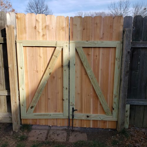 New Double Gate