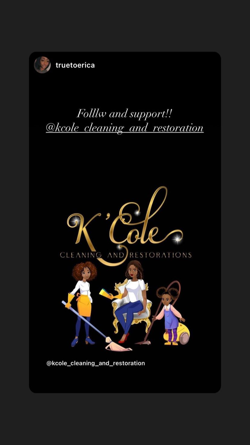 K'Cole Cleaning & Restorations