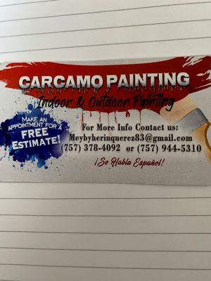 Avatar for Carcamo's painting service