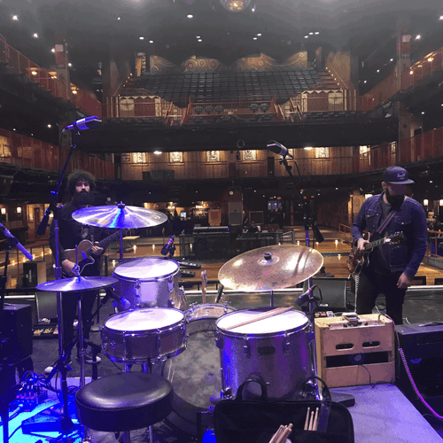 Sound Check at House Of Blues Boston
