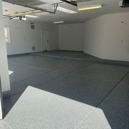 950 sq ft epoxy coating