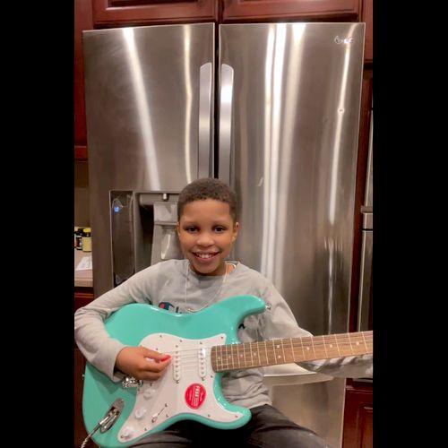 Cameron / Guitar Student
