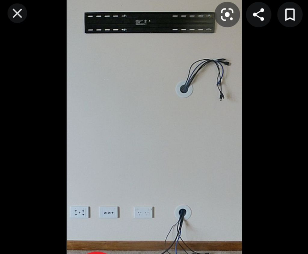 Tv mounting options
