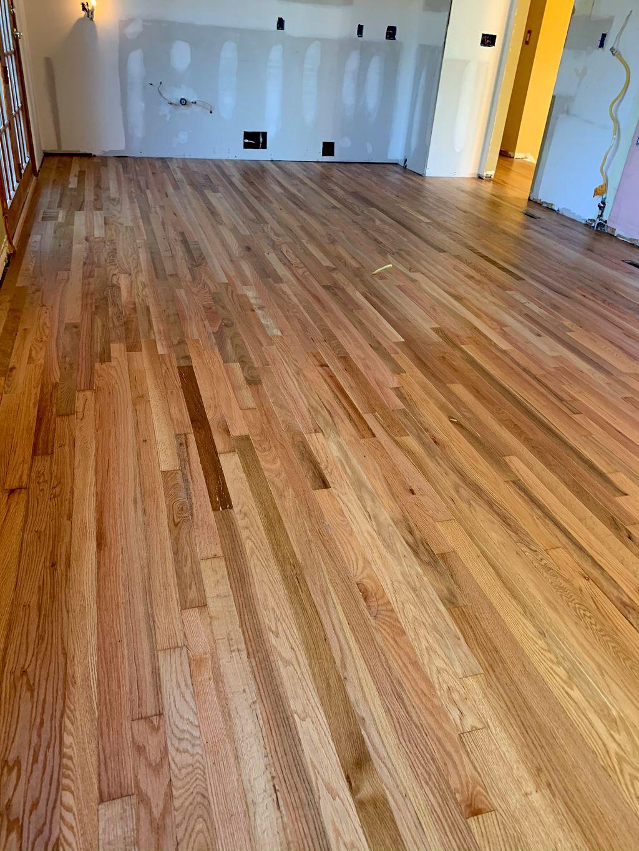 Flooring refinishing