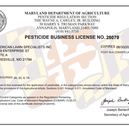 Current 2021 Business License