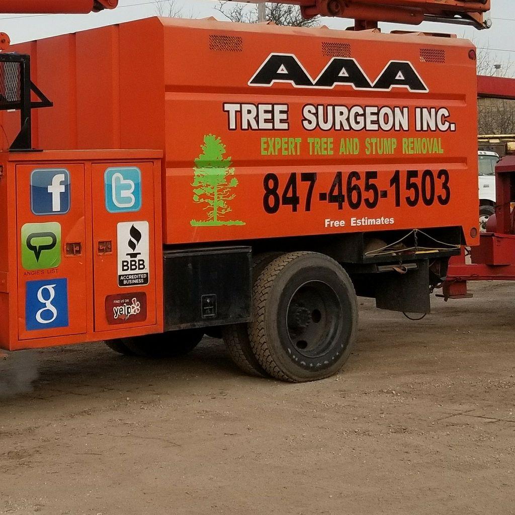 AAA Tree Surgeon inc.