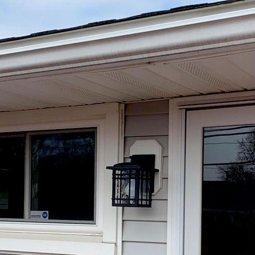 Brand new install outdoor light install