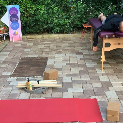 Yoga & Reiki Session (my home) RPB