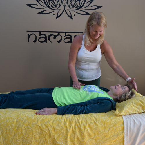 Reiki session performed in customer's home.