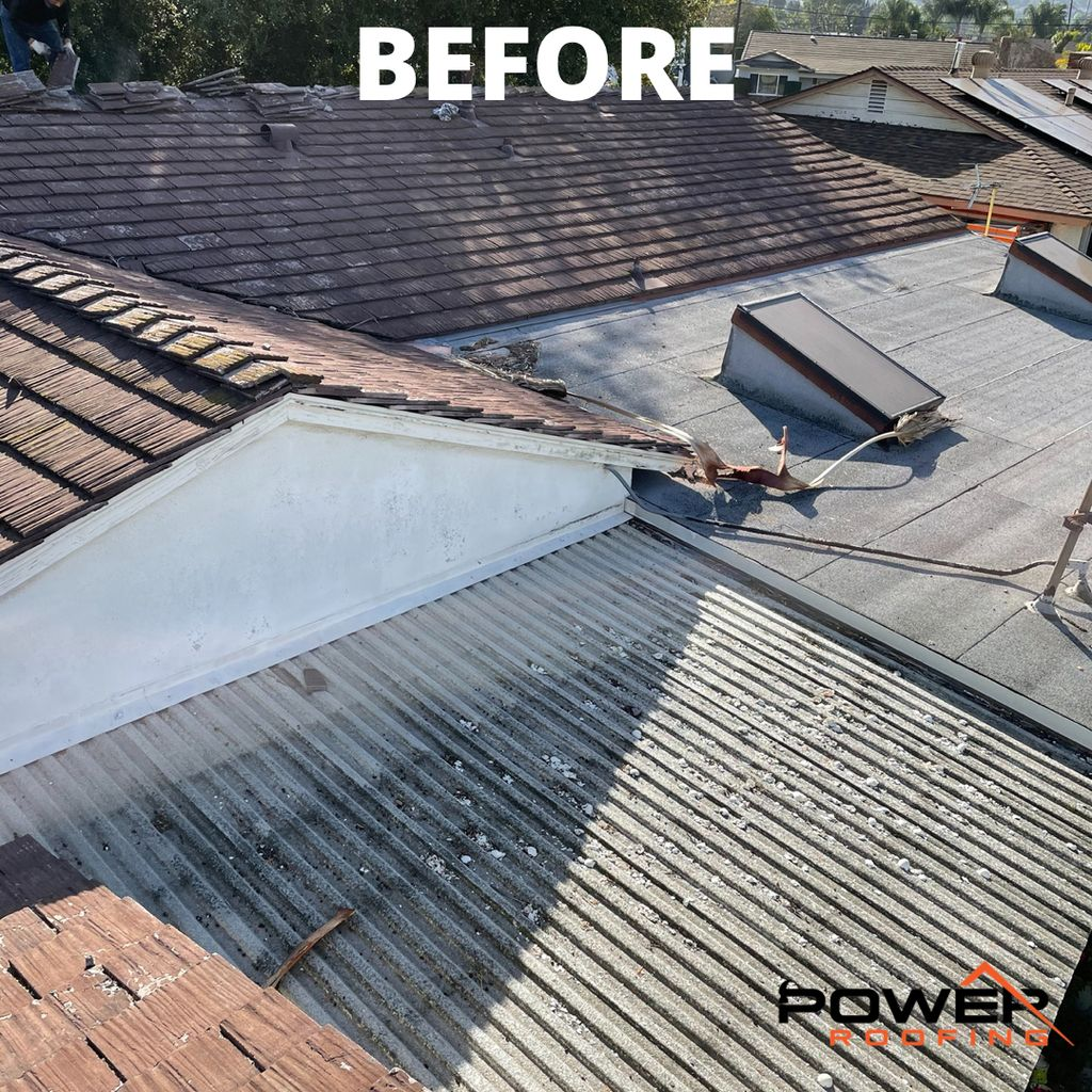 Tile Roof To Shingle Roof