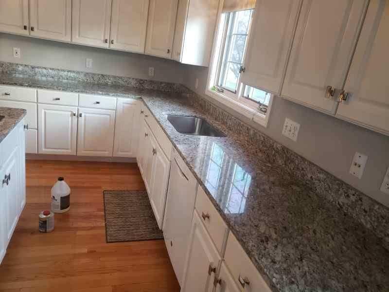 Kitchen sink and Bathrooms