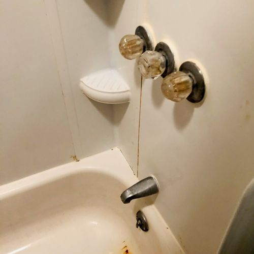 We inspect the plumbing and make sure your water is draining properly.