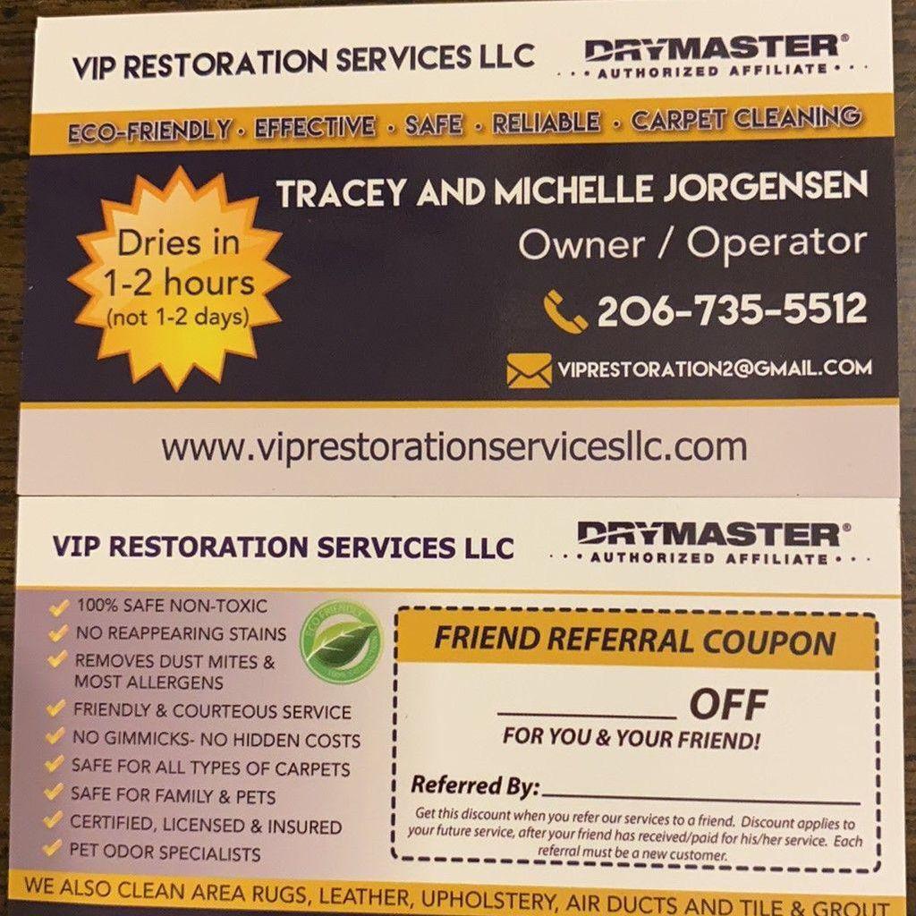 Vip Restoration Services llc