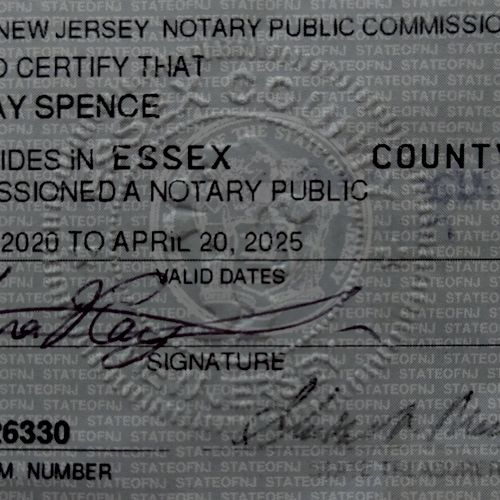 NJ Notary Commission
