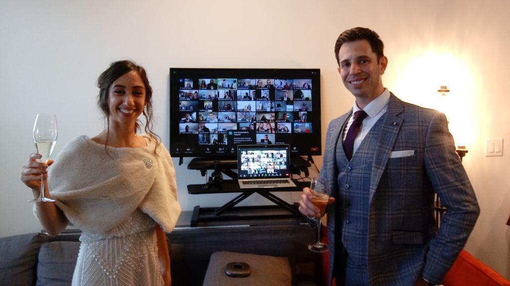 Virtual Zoom Wedding