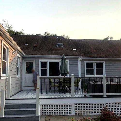 Medium-size deck in Livingston, NJ
