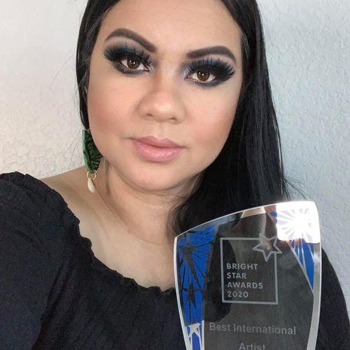 Won 2020 Bright Star Award for Best International Artist