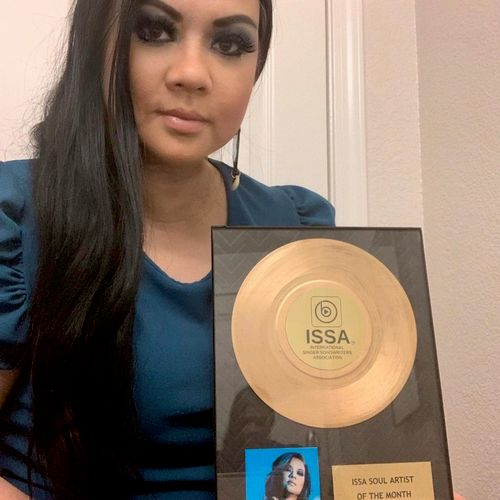 "Won 2021 International Singer Songwriters Association ""Soul Artist of the Month"""