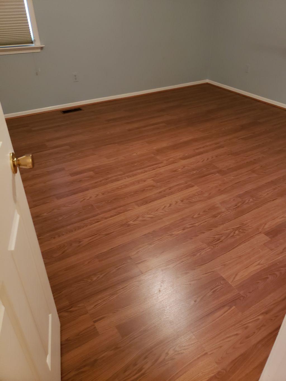 Vinyl Plank Flooring Install