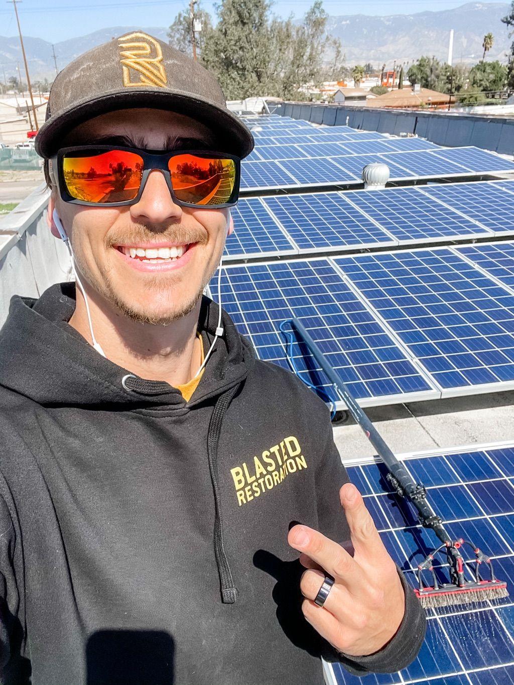 Blasted Restoration Solar Cleaning, LLC