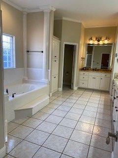 deep clean master suite