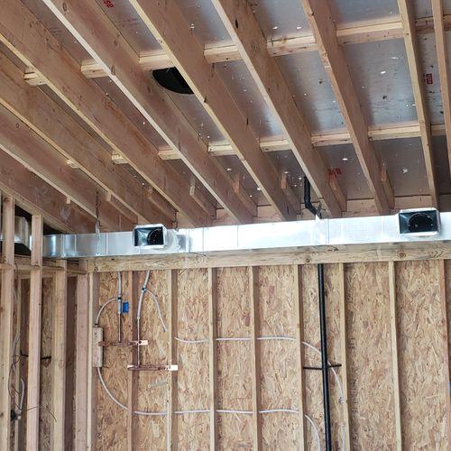 Casita mini split ducted unit Installation