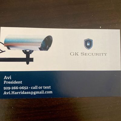 Avatar for Gk Security
