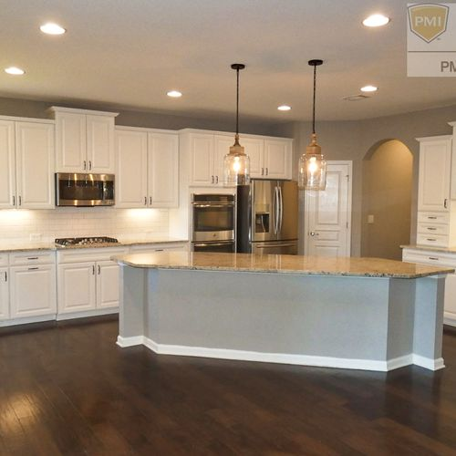 Granite Countertops, Stainless Steel Appliances