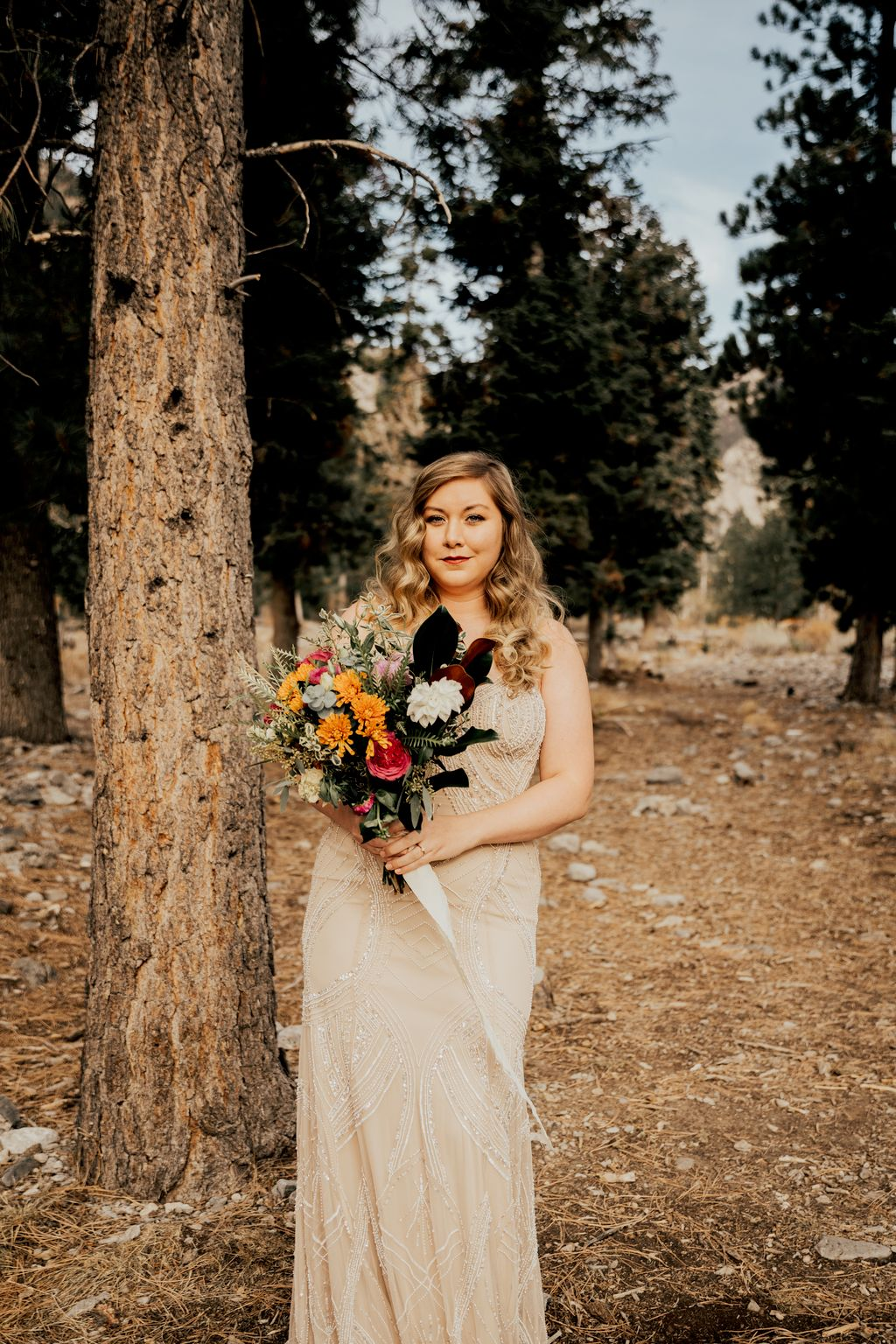 Cassie and Micah Mt Charleston Elopement