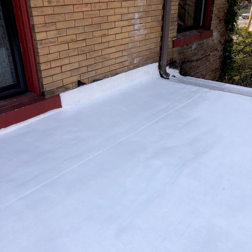 Restore your roof today, and avoid the cost of a new one with 100% silicone roof coating.