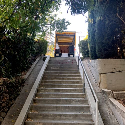 No stairs fees!