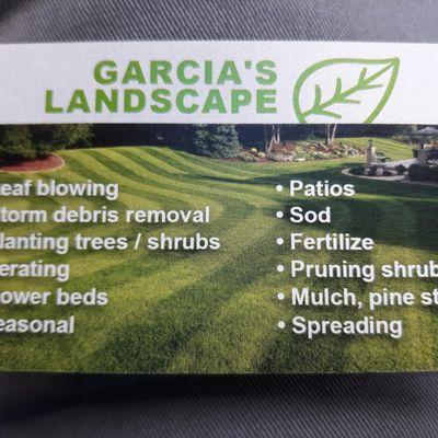 Avatar for Garcia's landscape