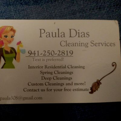Avatar for Paula Cleaning Services🧼