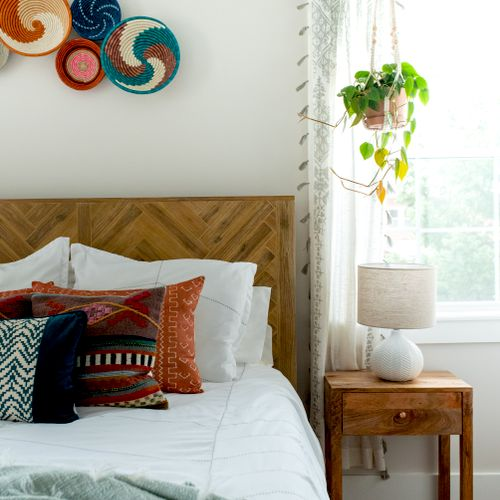 Global Bohemian Bedroom