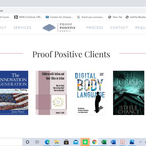 Proof Positive Clients