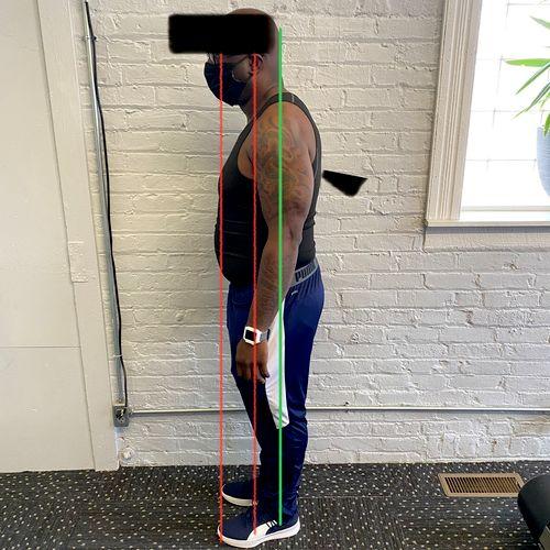 Proper body alignment
