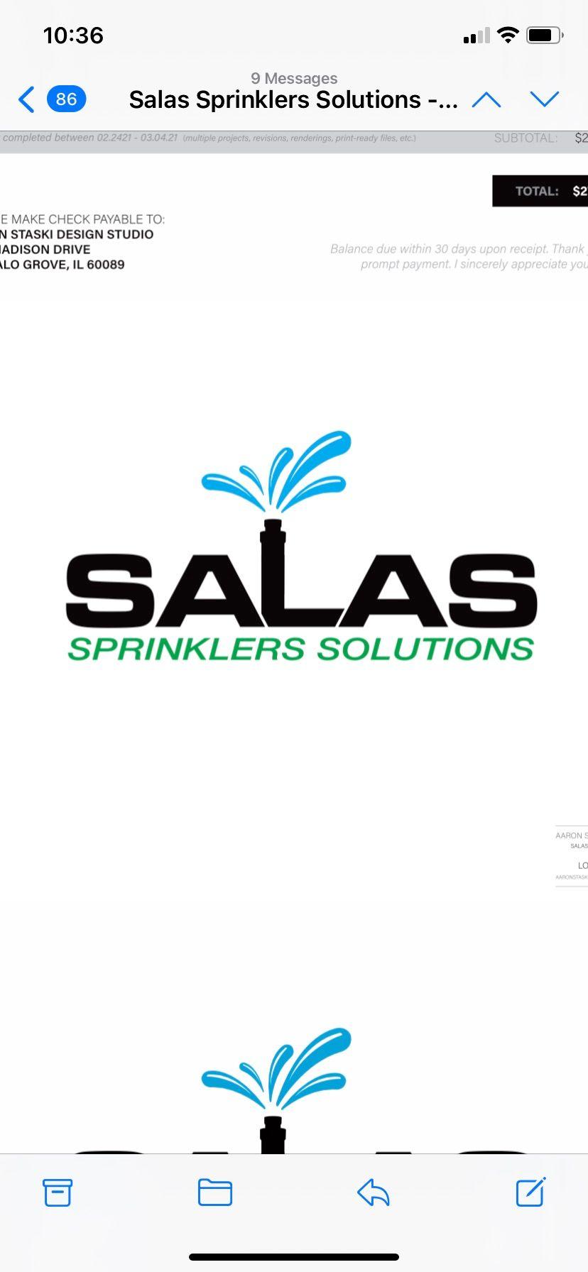 Salas Sprinklers Solutions