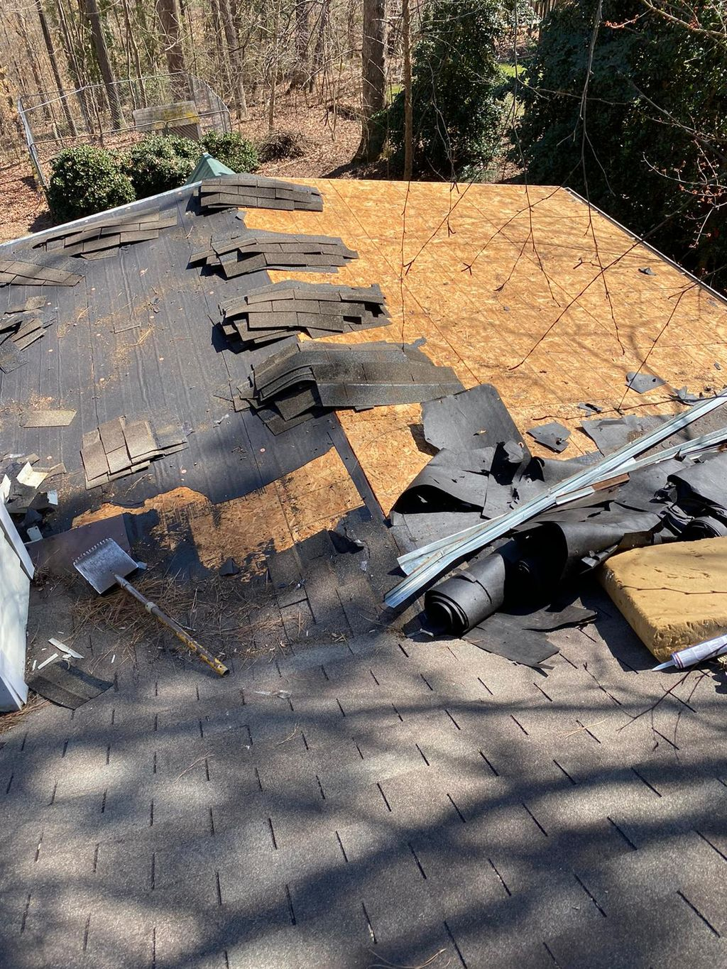 Roof Install