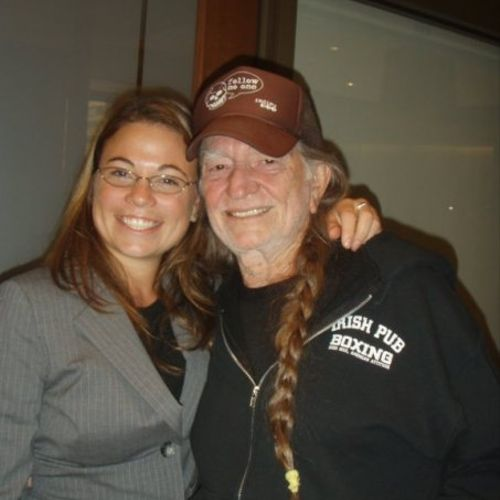 When Willie Nelson is a Co-Defendant and you get to tell him a joke on break during deposition.