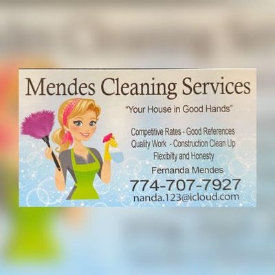 Avatar for Mendes Cleaning services