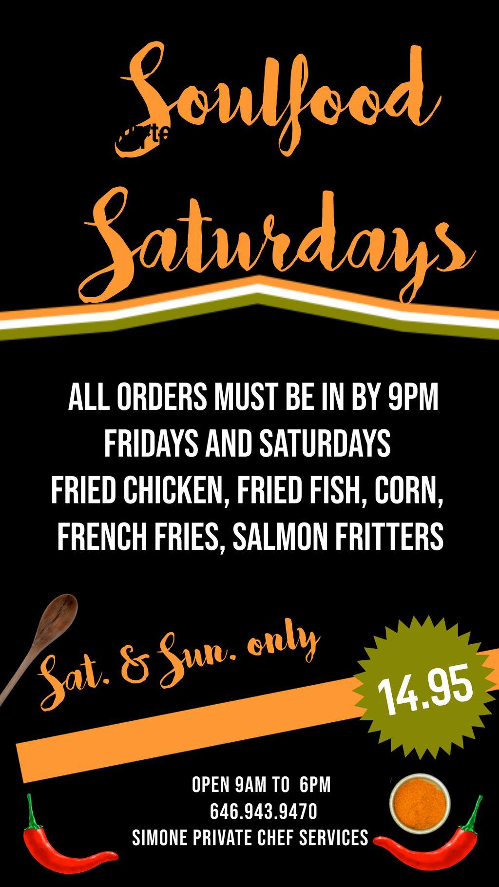 Soul Food Weekends