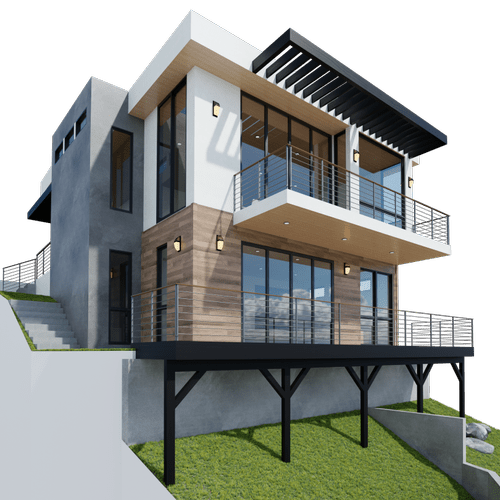 Showing your 3D house ;)