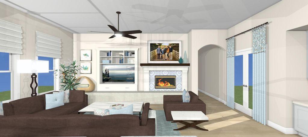 Interior Design - Kitchen & Family Room Update